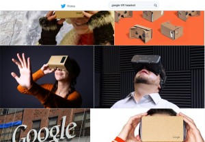 Google's Virtual Reality Headset -VR