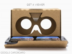 Google Virtual Reality Headset