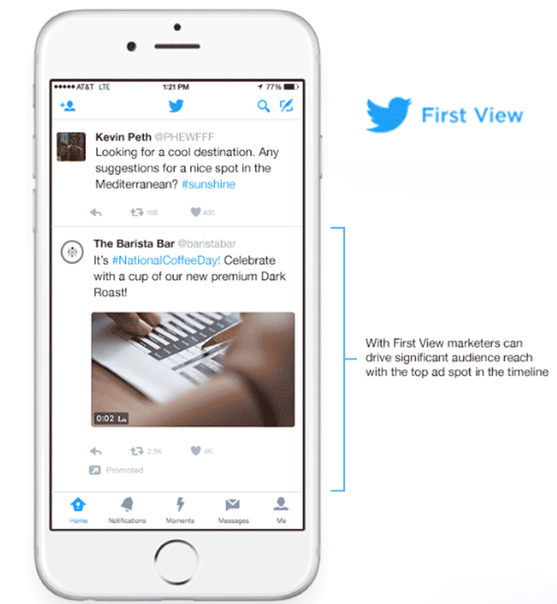 Twitter First View will Prioritize tweets on your Timelines ...